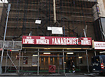 'The Anarchist' (Theatre Marquee) Two-time Tony Award winner Patti LuPone, will go head-to-head with three-time Oscar nominee Debra Winger, as two powerful women forced to engage in a cage match of wits. Passion. Deception. Religion. Revolution. These thrilling topics and more are brought to light in the world premiere of this provocative two-hander by David Mamet.  The John Golden Theatre  in New York, NY on September 14, 2012.