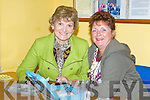 Local supporters Ann Marie O'Sullivan and Joan Griffin pictured in Athea for a special variety show last Sunday evening.