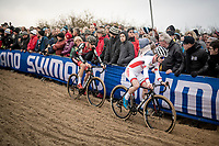 World Cup Leader Eli Iserbyt (BEL/Pauwels Sauzen-Bingoal)<br /> <br /> Elite Men's Race<br /> UCI cyclocross WorldCup - Koksijde (Belgium)<br /> <br /> ©kramon