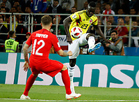 MOSCU - RUSIA, 03-07-2018: Davinson SANCHEZ jugador de Colombia en acción durante partido de octavos de final entre Colombia y Inglaterra por la Copa Mundial de la FIFA Rusia 2018 jugado en el estadio del Spartak en Moscú, Rusia. / Davinson SANCHEZ player of Colombia in action during the match between Colombia and England of the round of 16 for the FIFA World Cup Russia 2018 played at Spartak stadium in Moscow, Russia. Photo: VizzorImage / Julian Medina / Cont