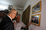 Palestinian prime minister Rami Hamdallah visits the house of late Palestinian leader Yasser Arafat, Gaza City on October 5, 2017. For three days it was all smiles as the Palestinian prime minister held talks in Gaza with Hamas but as the symbolic visit draws to a close the real work for reconciliation is just beginning. Photo by Mohammed Asad