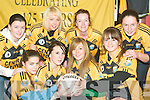 It a ladies game too: Members of the Listowel Emmets Junior Ladies team at the their launch at the Emmets clubhouse on Monday night were front l-r Danielle O'Connor, Megan Galvin, Hillary Griffin and Heather O'Rourke. Back l-r Jennifer Ryan, Leah Dore, Sarah Keane and Kate Sayers.