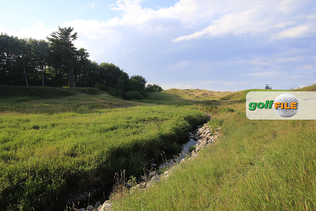 The 10th hole during Monday's Practice Day of the 97th US PGA Championship 2015 held at Whistling Straits, Mosel, Kohler, Wisconsin, United States of America. 10/08/2015.<br /> Picture Eoin Clarke, www.golffile.ie