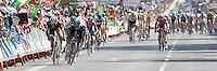 Daniele Bennati (l) and Ben Swift lead the final sprint during the stage of La Vuelta 2012 beetwen Aguilar de Campoo-Valladolid.September 6,2012. (ALTERPHOTOS/Paola Otero) /NortePhoto.com<br /> <br /> **CREDITO*OBLIGATORIO** <br /> *No*Venta*A*Terceros*<br /> *No*Sale*So*third*<br /> *** No*Se*Permite*Hacer*Archivo**<br /> *No*Sale*So*third*