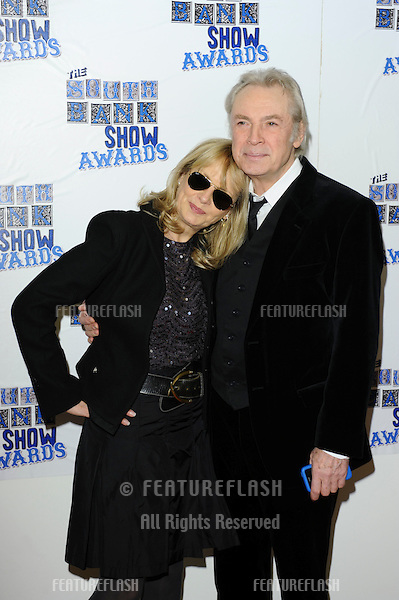 Twiggy and husband, Leigh Lawson arriving for the South Bank Show Awards 2010, the last ever, at the Dorchester Hotel.  26/01/2010  Picture by: Steve Vas / Featureflash