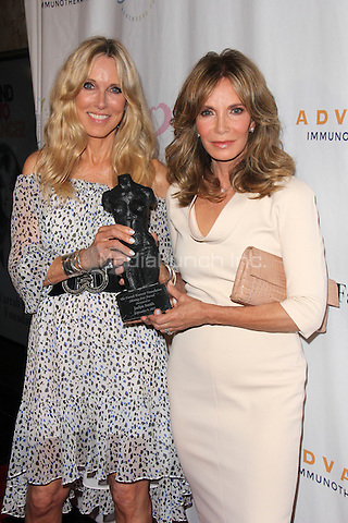 BEVERLY HILLS, CA - SEPTEMBER 9: Alana Stewart, Jaclyn Smith at the Farrah Fawcett Foundation First annual Tex-Mex Fiesta at Wallis Annenberg Center for the Performing Arts on September 9, 2015 in Beverly Hills, California. Credit: David Edwards/MediaPunch