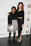 Delaina Dixon & Shawn Cheatham's daughter at Color of Beauty Awards hosted by VH1's Gossip Table's Delaina Dixon and Maureen Tokeson-Martin on February 28, 2015 with red carpet, awards and cocktail reception at Ana Tzarev Gallery, New York City, New York.  (Photo by Sue Coflin/Max Photos)