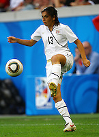 USA's Mollie Pathman during the FIFA U20 Women's World Cup at the Rudolf Harbig Stadium in Dresden, Germany on July 17th, 2010.