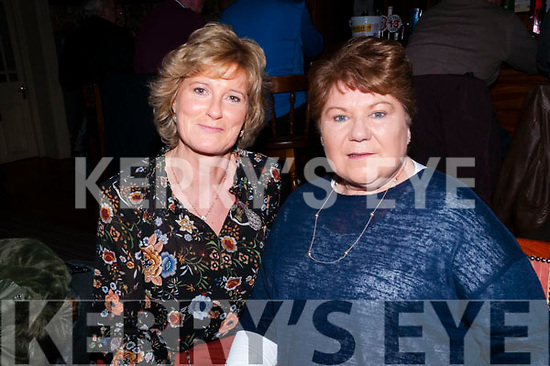 Caroline Foundation Fundraiser: Attending the Caroline Foundation fundraiser in aid of cancer research at Kilcooley's Country House, Ballybunion on Saturday night last were Anne O'Donnell & Eileen Kelly.