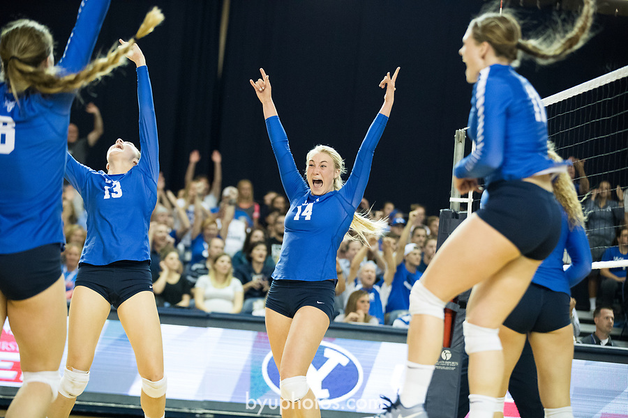 16wVLB vs Utah 229<br /> <br /> 16wVLB vs Utah<br /> <br /> BYU Womens Volleyball loses University of Utah<br /> <br /> BYU - 2 UNLV - 3<br /> <br /> September 15, 2016<br /> <br /> September 15, 2016<br /> <br /> Photography by Jaren Wilkey/BYU<br /> <br /> Copyright BYU Photo 2015<br /> All Rights Reserved<br /> photo@byu.edu (801)422-7322