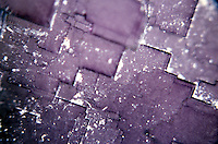 FLUORITE - Closeup<br />  Cubic-hexoctahedral; CaF2