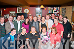 "HAPPY BIRTHDAY: John ""Chizzy"" O'Regan, Strand Rd, Tralee (seated centre) celebrated his 61st birthday last Saturday night In his local Betty's bar with many friends and family."