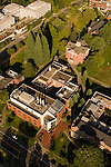Aerial View of Willamette University, Salem, Oregon