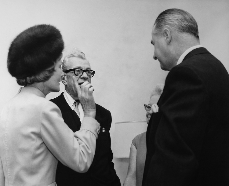 Vice President Spiro Agnew with party members. (Photo by Mickey Senko/CQ Roll Call via Getty Images)