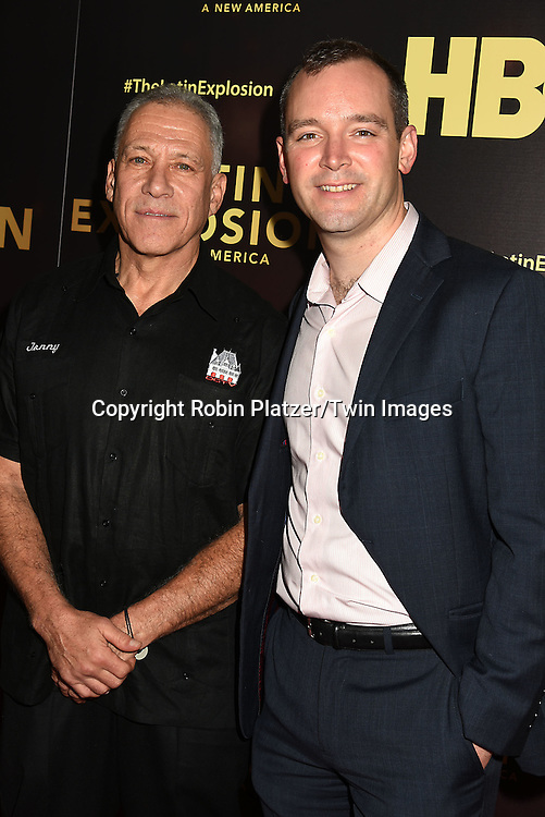 Jon Alpert and Matt O'Neill attend the HBO premiere of &quot;The Latin Explosion: A New America&quot; on November 10, 2015 at the Hudson Theater in New York City, New York, USA.<br /> <br /> photo by Robin Platzer/Twin Images<br />  <br /> phone number 212-935-0770