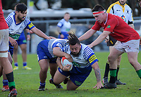 Action from the Wellington Jubilee Cup premier club rugby match between Marist St Pats and Northern United at Evan's Bay Park in Wellington, New Zealand on Saturday, 26 May 2018. Photo: Dave Lintott / lintottphoto.co.nz