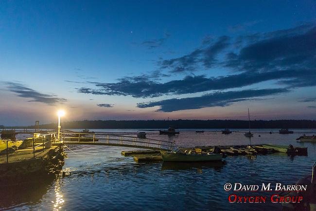 Muscongus Harbor At 5am