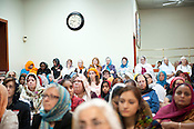 People packed the Sikh Gurudwara of North Carolina in Durham to honor the victims of the Oak Creek shooting on Wednesday August 8th 2012.