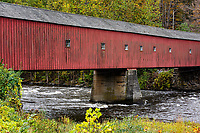 West Cornwall Covered Bridge.