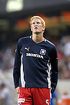 11 July 2004: Jim Curtin before the game. The Chicago Fire tied the New England Revolution 1-1 at Soldier Field in Chicago, IL during a regular season Major League Soccer game..