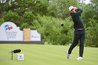 Brooks Koepka (USA) watches his tee shot on 14 during round 3 of the Valero Texas Open, AT&amp;T Oaks Course, TPC San Antonio, San Antonio, Texas, USA. 4/22/2017.<br /> Picture: Golffile | Ken Murray<br /> <br /> <br /> All photo usage must carry mandatory copyright credit (&copy; Golffile | Ken Murray)