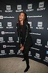 Sports Illustrated Model Quiana Grant   Attends GLORY Sports International (GSI) Presents GLORY 12 Kick Boxing World Championship NEW YORK, LIVE on SPIKE TV, from the Theater at Madison Square Garden, NY