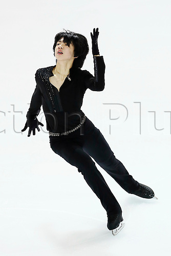 08.12.2016. Palais Omnisports, Marseille, France. ISU Junior Figure Skating Grand Prix Final. Cha Jun Hwan (KOR) competes in the Men's Short Program.