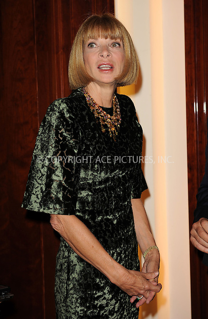 WWW.ACEPIXS.COM . . . . . ....September 9 2009, New York City....Editor in Chief of Vogue Anna Wintour at the unveiling of the new third floor at Saks Fifth Avenue on September 9, 2009 in New York City. ....Please byline: KRISTIN CALLAHAN - ACEPIXS.COM.. . . . . . ..Ace Pictures, Inc:  ..tel: (212) 243 8787 or (646) 769 0430..e-mail: info@acepixs.com..web: http://www.acepixs.com