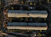 Aerial view of wineries and mills in the ejido La Victoria. <br /> <br /> Vista a&eacute;rea de bodegas y molinos en el ejido la Victoria.  <br /> <br />  (Foto: Luis Gutierrez / NortePhoto.com)