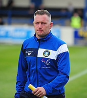 Gainsborough Trinity's Manager Dave Frecklington<br /> <br /> Photographer Andrew Vaughan/CameraSport<br /> <br /> Pre-Season Friendly - Gainsborough Trinity v Lincoln City - Saturday 15th July 2017 - The Gainsborough Martin &amp; Co Arena - Gainsborough<br /> <br /> World Copyright &copy; 2017 CameraSport. All rights reserved. 43 Linden Ave. Countesthorpe. Leicester. England. LE8 5PG - Tel: +44 (0) 116 277 4147 - admin@camerasport.com - www.camerasport.com
