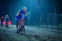 Zdenek Stybar (CZE/Quick-Step Floors) in the sandbox<br /> <br /> men's race<br /> 44th Superprestige Diegem (BEL) 2018<br /> ©kramon