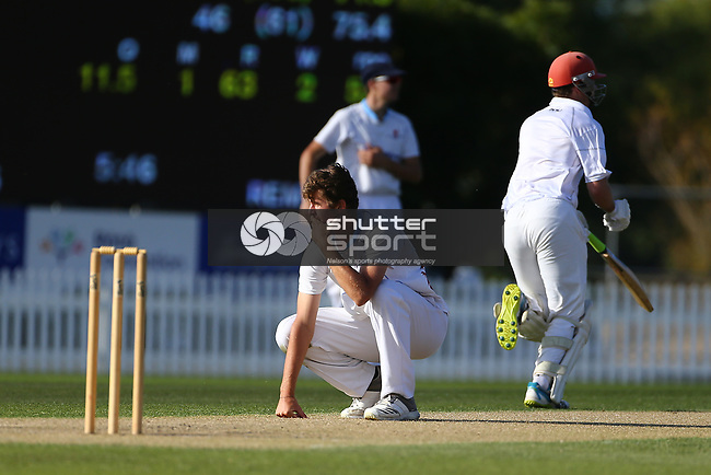 NELSON, NEW ZEALAND - MARCH 1:  Hawke Cup Cricket, Nelson V Hawkes Bay,Day one on March 1 2019 Saxton Oval in Nelson, New Zealand. (Photo by: Evan Barnes Shuttersport Limited)