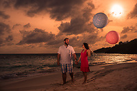 Zachary and Donna babymoon at te Reefs Hotel