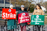 Kerry College of Further Education Clash Campus on strike on Tuesday.