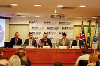 CURITIBA, PR, 17.03.2017 – LAVA JATO – Procuradores da República durante coletiva de imprensa na manha desta sexta-feira (17) na sede do MPF em Curitiba (PR)  (Foto: Paulo Lisboa/Brazil Photo Press)