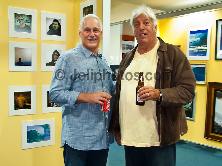 Friday June 25, 2010 Surf World Gold Coast, Currumbin, Queensland..The Surf Photographers Night at the Surf World Gold Coast Museum featured Tony 'Harro' Harrington, Marty Tullemans, Ben Ey and Peter 'Joli' Wilson..The four local photographers presented a selection of their work and gave a talk about the 'story' behind it's capture. An exhibition will run for six weeks featuring photos from all four photographers. The night marked the 1st birthday of the Museum, Photo: joliphotos.com
