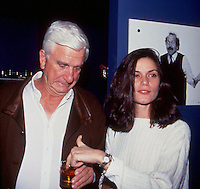 Leslie Nielsen & Linda Fiorentino 1992<br /> by Jonathan Green