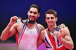 World Championships Gymnastics Individual Apparatus Finals  2015 SSE Hydro Arena.Whitlock & Smith
