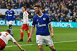 16.03.2019, VELTINS-Arena, Gelsenkirchen, GER, DFL, 1. BL, FC Schalke 04 vs RB Leipzig, DFL regulations prohibit any use of photographs as image sequences and/or quasi-video<br /> <br /> im Bild Mark Uth (#7, FC Schalke 04) unzufrieden / enttaeuscht / niedergeschlagen / frustriert, nach verpasster Torchance<br /> <br /> Foto © nph/Mauelshagen