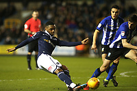 Mahlon Romeo of Millwall in action during Millwall vs Sheffield Wednesday, Sky Bet EFL Championship Football at The Den on 12th February 2019