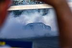 #1 Kurt Busch  during NASCAR's Burnout Blvd. Driven By Goodyear