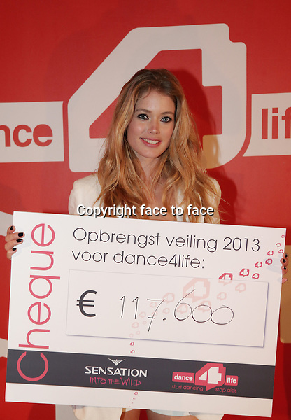 Doutzen Kroes at Dance 4 Life 2013 in Amsterdam Arena, 06.07.2013, Amsterdam.<br />