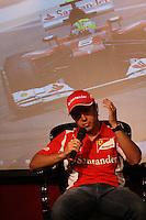 ATENÇÃO EDITOR: FOTO EMBARGADA PARA VEÍCULOS INTERNACIONAIS. – SÃO PAULO - SP – 12 DE NOVEMBRO 2012. FELIPE MASSA – Desafio Internacional das Estrelas 2013– Divulgou o evento nesta segunda-feira(12) na XYZ LIVE parceira da RM Racing Events . FOTO: MAURICIO CAMARGO / BRAZIL PHOTO PRESS.