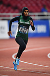 Alshehri Dana Salah (KSA), <br /> AUGUST 25, 2018 - Athletics : Women's 400m Qualification at Gelora Bung Karno Main Stadium during the 2018 Jakarta Palembang Asian Games in Jakarta, Indonesia. <br /> (Photo by MATSUO.K/AFLO SPORT)