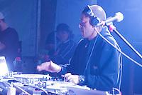 SÃO PAULO-SP,16,08,2014 - JUVENTUDE NAS RUAS - DJ KL JAY durante o show Juventude na Ruas organizado pela Prefeitura de São Paulo em conjunto com a Coordenadoria da Juventude,no Vale do Anhangabaú na cidade de São Paulo na noite desse Sábado,16 (Foto:Kevin David/Brazil Photo Press)