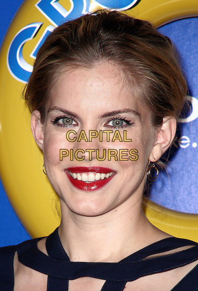 ANNA CHLUMSKY.The screening of 'Grown Ups' at the Ziegfeld Theatre in New York City, NY, USA, 23rd June 2010..arrivals portrait headshot hair up black red lipstick make-up .CAP/ADM/PZ.©Paul Zimmerman/AdMedia/Capital Pictures.