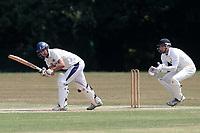 Harold Wood CC (batting) vs Hutton CC, Shepherd Neame Essex League Cricket at Harold Wood Park on 7th July 2018