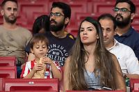 Armosphere during the Atletico de Madrid against Juventus Uefa Champions League football match at Wanda Metropolitano stadium in Madrid on September 18, 2019.