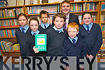 Pupils at Faha National School have been busy putting pen to paper to write their very own short stories which have been published in a book. .F L-R Holly  Barrett, Jerry  Courtney, Matthew Hunt and Nicola Giles., .Back L-R Aileen O'Leary, Mark O'Brien and Principal Jerry Fitzgerald.