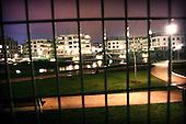 Warsaw 07.04.2008 Poland<br /> Warsaw discrit calls Marina Mokotow. This is closed area, separate off rest Warsaw by 2 metres fence. Discrit is accessible only for wealthy man<br /> (Photo by Adam Lach / Napo Images for Newsweek Polska)<br /> <br /> Warszawska dzielnica Marina Mokotow. To region zamkniety i oddzielony od reszty Warszawy 2 metrowym plotem. Dzielnica dostepna jest tylko dla majetnych ludzi<br /> (Fot Adam Lach / Napo Images dla Newsweek Polska)